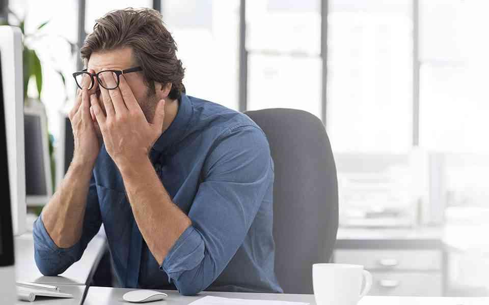 πίεση στη δουλειά, άγχος στη δουλειά, ψυχική υγεία