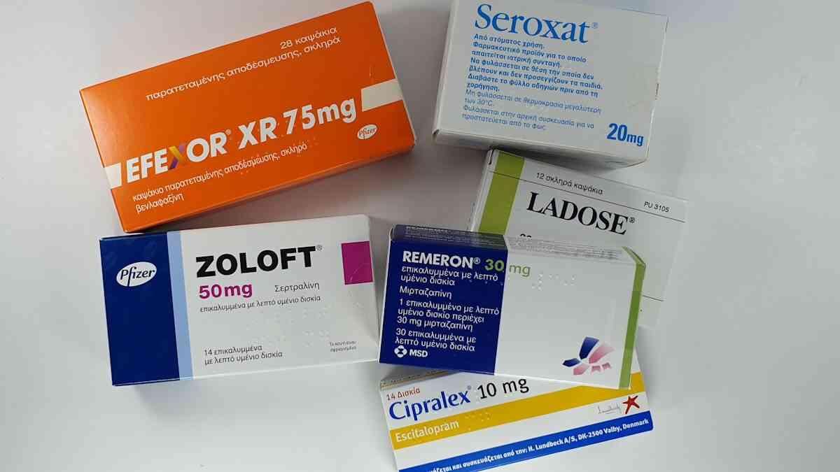 αντικαταθλιπτικα φαρμακα ssri