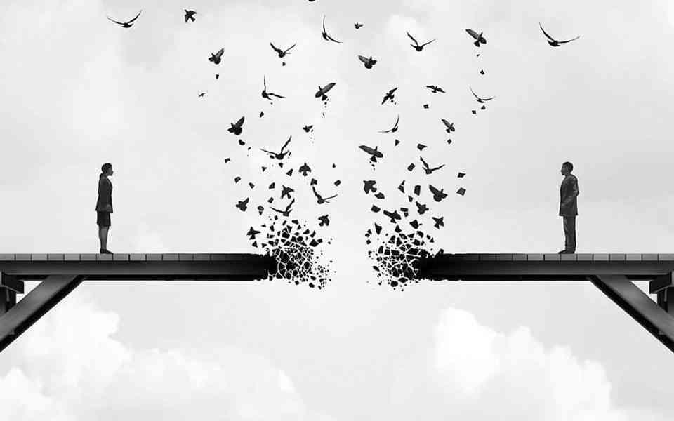 χωρισμός, φόβος του χωρισμού, γιατί φοβόμαστε να χωρίσουμε