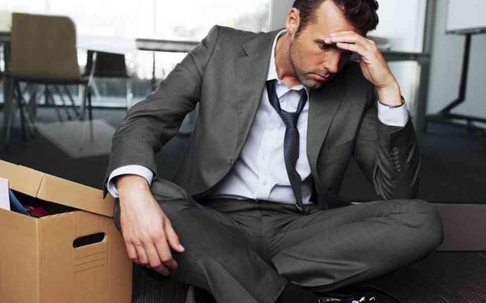 απώλεια εργασίας, απόλυση, ανεργία, πένθος για την απώλεια της δουλειάς