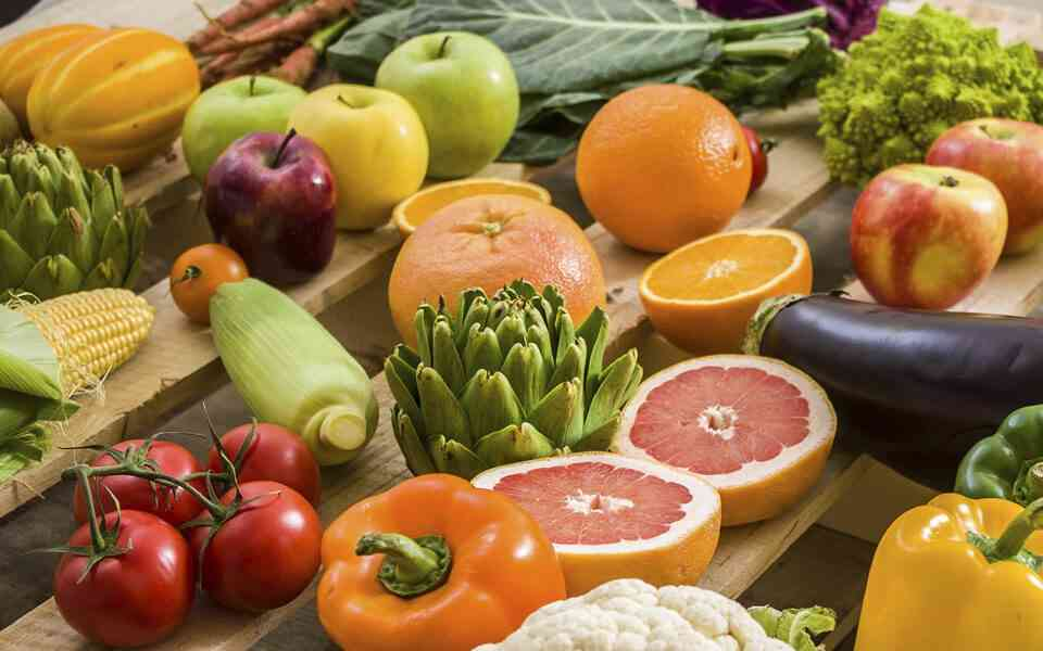 φρούτα και λαχανικά, θρεπτική αξία φρούτων και λαχανικών, ιδιότητες φρούτων και λαχανικών , οφέλη φρούτων και λαχανικών